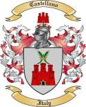 Castellano Family Crest from Italy