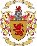Castellaw Family Coat of Arms from Scotland