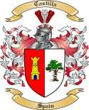 Castilla Family Coat of Arms from Spain