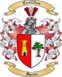 Castillos Family Crest from Spain