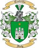 Castrillo Family Crest from Italy
