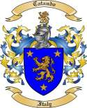 Cataudo Family Crest from Italy