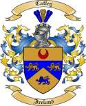 Catley Family Crest from Ireland