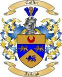 Catlin Family Crest from Ireland