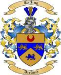 Catling Family Crest from Ireland