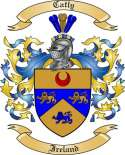 Catly Family Crest from Ireland