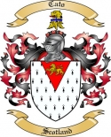 Cato Family Crest from Scotland