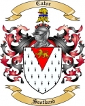 Catoe Family Coat of Arms from Scotland