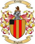 Cauche Family Crest from England