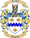 Caudill Family Coat of Arms from England