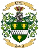 Cauffie Family Crest from Ireland