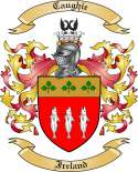 Caughie Family Coat of Arms from Ireland