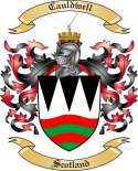 Cauldwell Family Crest from Scotland