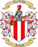 Caulfields Family Coat of Arms from Ireland