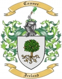 Cauner Family Coat of Arms from Ireland1