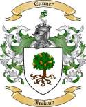 Cauner Family Coat of Arms from Ireland2