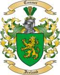 Cauner Family Coat of Arms from Ireland