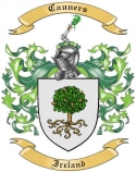 Cauners Family Crest from Ireland1