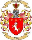 Cavallotto Family Crest from Italy