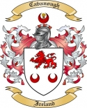 Cavanough Family Coat of Arms from Ireland