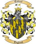 Cavart Family Coat of Arms from England2