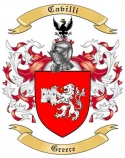 Cavilli Family Coat of Arms from Greece
