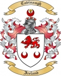 Cavinaugh Family Crest from Ireland