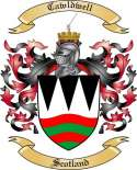 Cawldwell Family Coat of Arms from Scotland