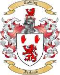 Cawley Family Coat of Arms from Ireland