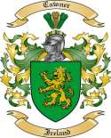Cawner Family Coat of Arms from Ireland