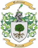 Cawners Family Coat of Arms from Ireland1
