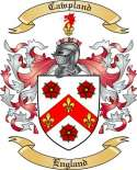 Cawpland Family Coat of Arms from England