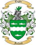 Caybe Family Crest from Ireland
