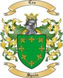Cea Family Coat of Arms from Spain