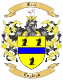 Ceal Family Crest from England