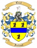 Ceal Family Crest from Ireland