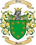 Cean Family Coat of Arms from Spain