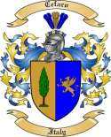 Cefaro Family Crest from Italy