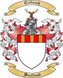 Ceiteach Family Coat of Arms from Scotland