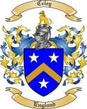 Celey Family Coat of Arms from England