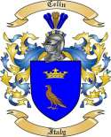 Celin Family Crest from Italy