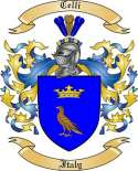 Celli Family Crest from Italy