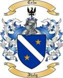 Celn Family Coat of Arms from Italy2