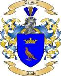 Celona Family Crest from Italy