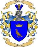 Celotto Family Coat of Arms from Italy