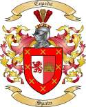 Cepeda Family Crest from Spain