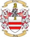 Cerina Family Coat of Arms from Italy