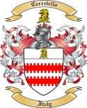 Cerretello Family Coat of Arms from Italy