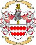 Cerro Family Crest from Italy