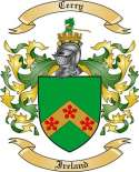 Cerry Family Crest from Ireland